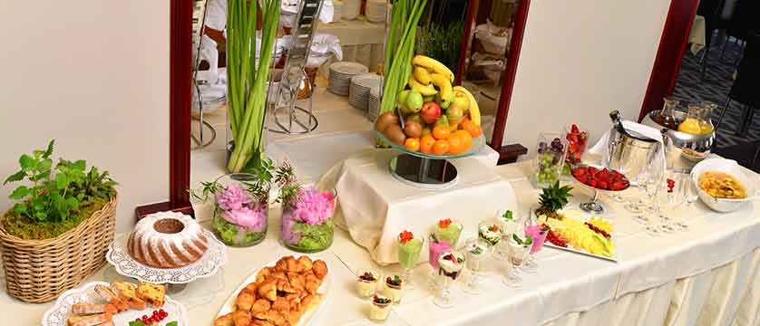 Hotel Kompas, Lake Bled, Slovenia - An example of the breakfast buffet 2.jpg